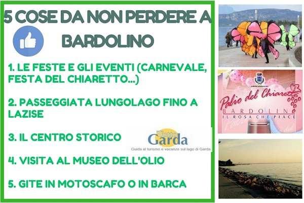 5 Cose da non perdere a Bardolino (VR)