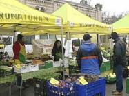 Mercato agricolo a Bardolino (VR)
