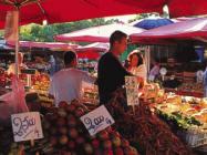 Mercato a Brenzone