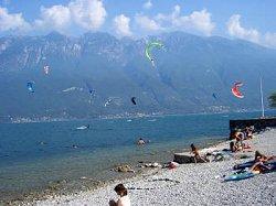 Campione del Garda (BS) Kite surf