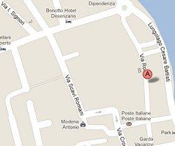 Mappa Via Roma Desenzano Mercatino Artigianale