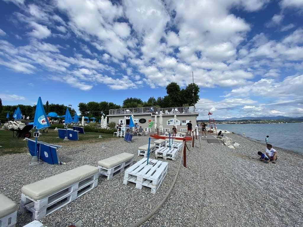 Spiaggia d'oro Golden Beach Desenzano del Garda