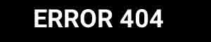 Error 404 Pagina non trovata