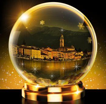 Natale a Salò sul Lago di Garda bresciano