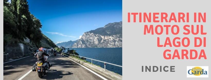 Itinerari da fare in moto sul Lago di Garda