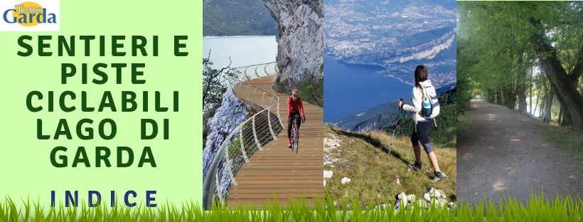 Passeggiate e piste ciclabili ul Lago di Garda