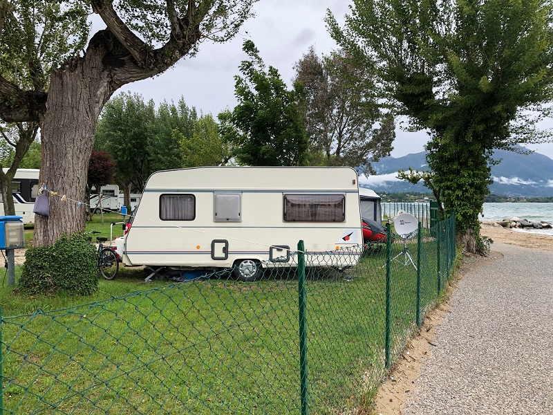 Aree di sosta camper sul Lago di Garda