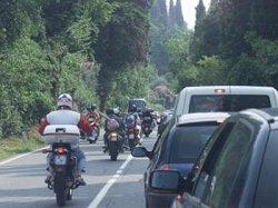 Gardesana sul lago di Garda motociclette