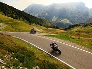 Giro in moto verso il Monte Baldo, Lago di garda veronese