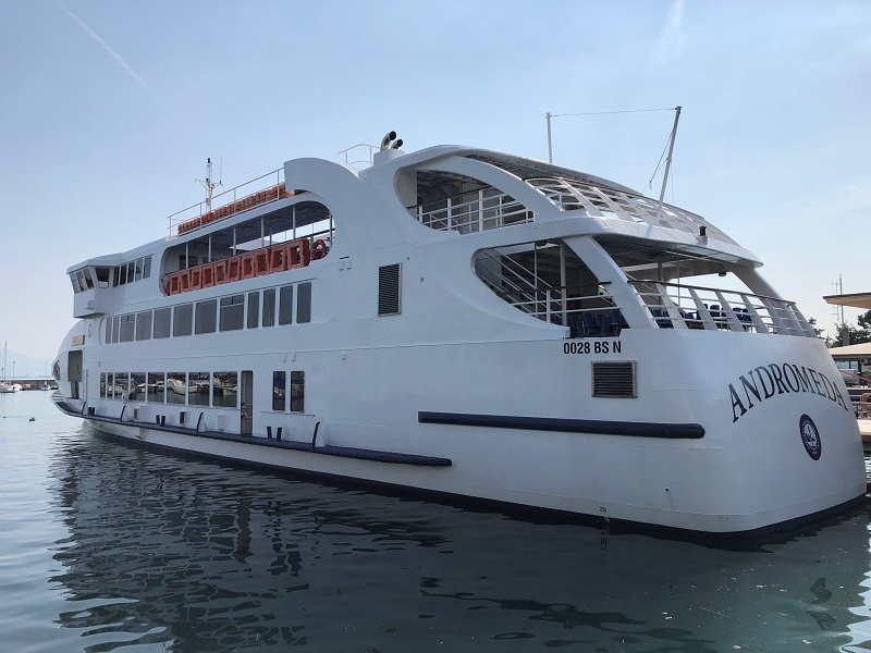 Traghetti e battelli sul Lago di Garda Estate 2019