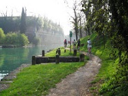 Pista ciclabile del Mincio: da Peschiera a Mantova