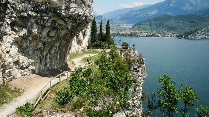 Sentiero del Ponale sul Lago di Garda trentino