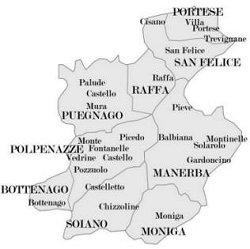 Valtenesi mappa