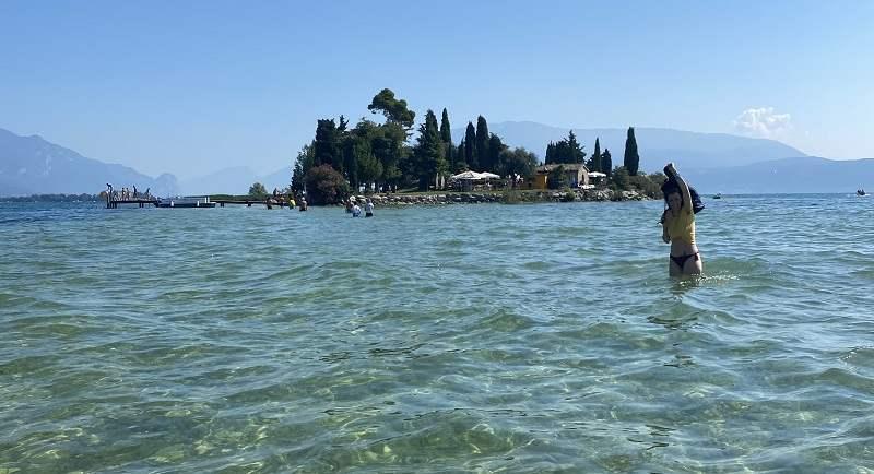 Isola dei Conigli sul Lago di Garda