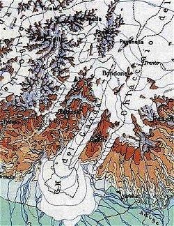 Lago di Garda - le glaciazioni