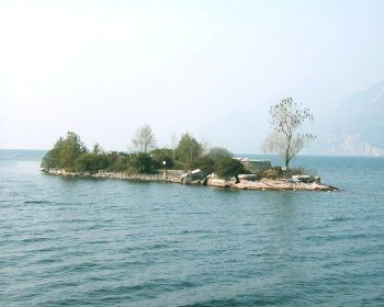 Lago di Garda - Isola di Trimelone