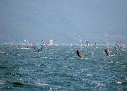 Lago di Garda - il vento Ander