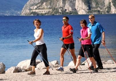 Nordic Walking sul Lago di garda