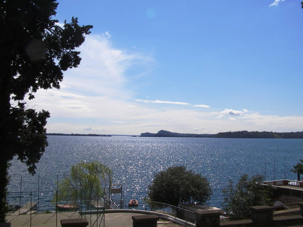 Panoramica da Gardone Riviera sul Lago di Garda
