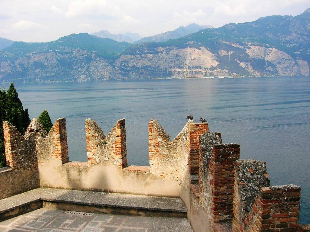 Castello sul Lago di Garda