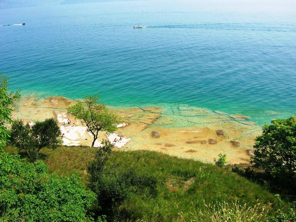 Spiaggia Giamaica a Sirmione