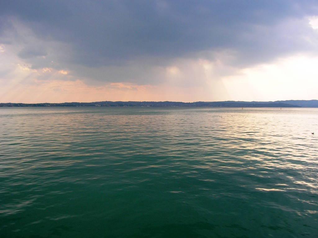 Temporale sul Lago di Garda
