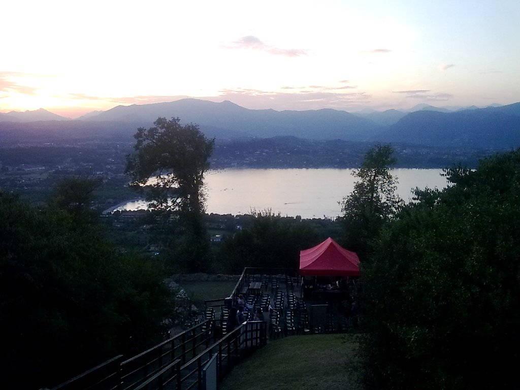 Vista panoramica dalla Rocca di Manerba