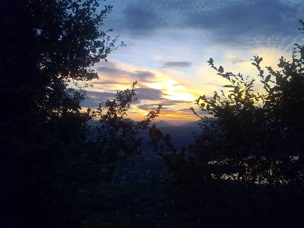 Al tramonto sul Lago di Garda