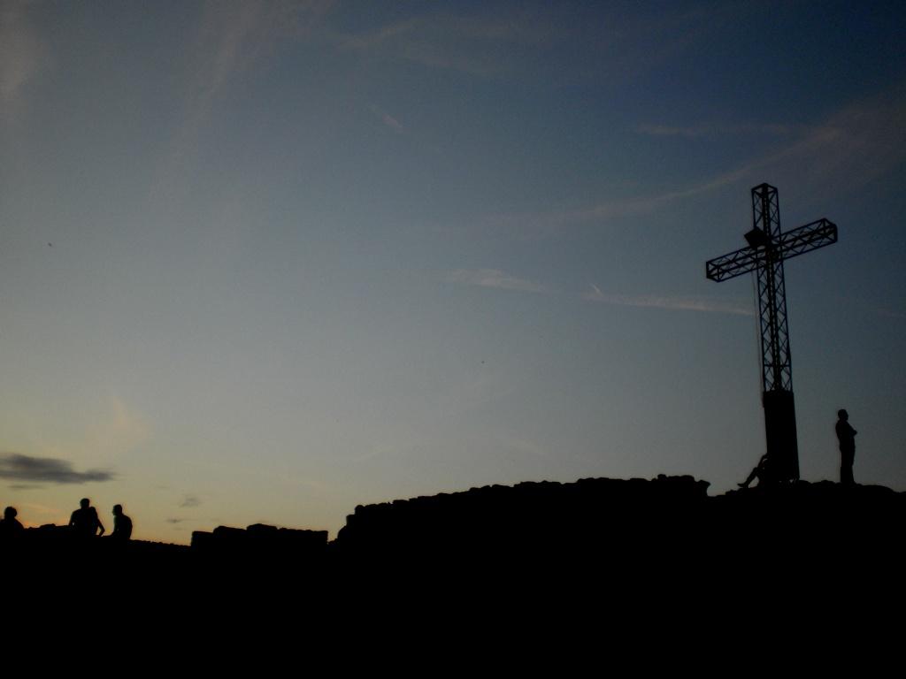 Croce alla Rocca di Manerba del Garda