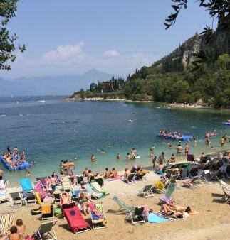 Spiaggia Baia delle Sirene Garda (VR)