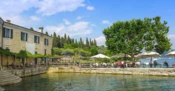 Porticcioli a Punta San Vigilio sul Lago di Garda