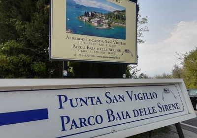 Baia delle Sirene sul Lago di Garda