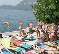 Spiaggia La Cavalla Garda (VR)