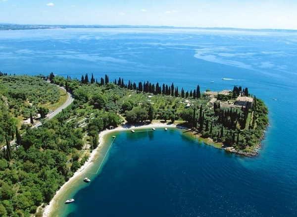 Punta San Vigilio sul Lago di Garda