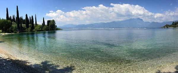 Spiagge di Garda sul Lago di Garda veronese