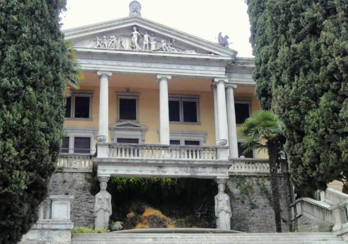 Villa Alba a Gardone Riviera