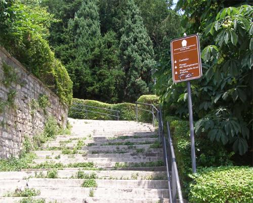Castello di Brescia passeggiata