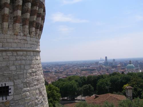 Castello di Brescia panoramica