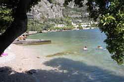 Spiagge a Limone del garda