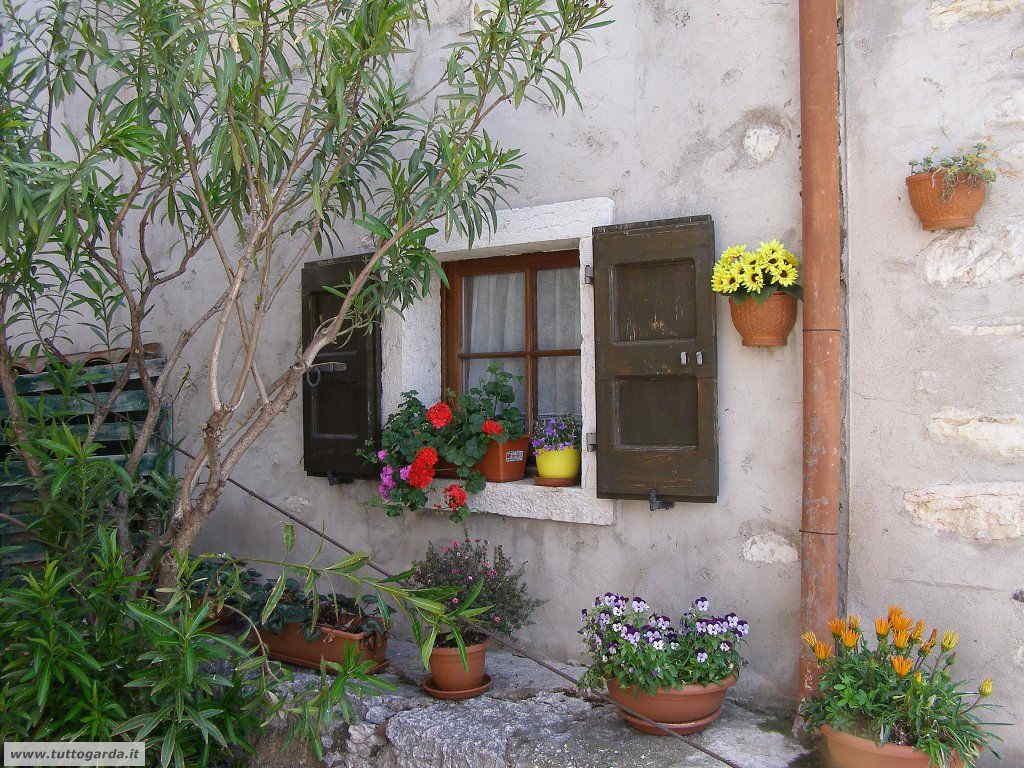 Scorcio a Cassone (VR) sul  lago di Garda