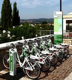 Manerba in Bici: Noleggio bici, Bike Sharing