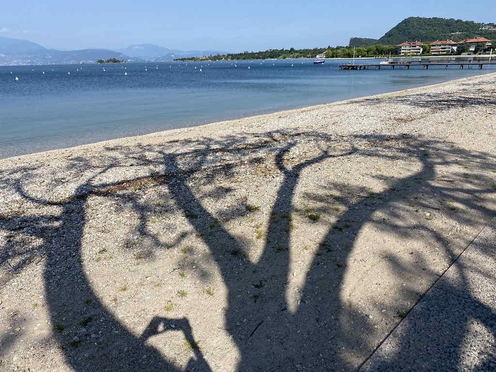 Spiagga La Romantica Manerba del Garda