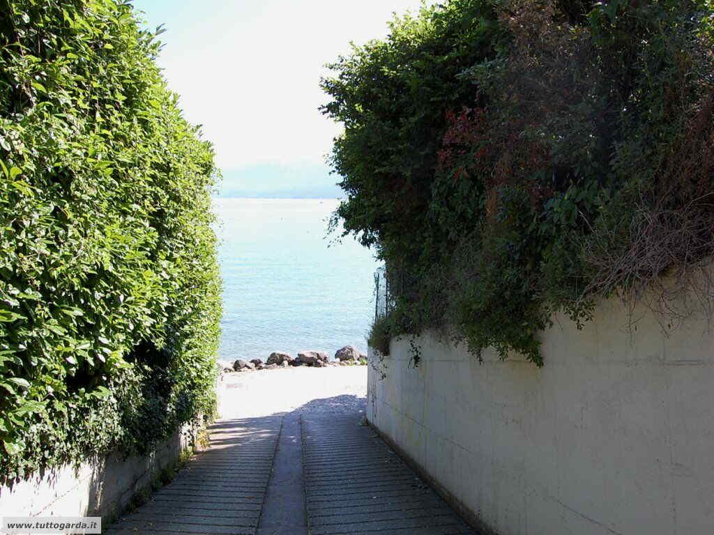 Spiaggia Pisenze di Manerba del Garda