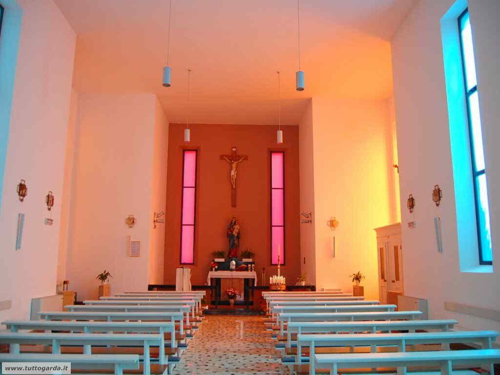 Interno Chiesa di Santa Maria al Lago a Torbole (TN)