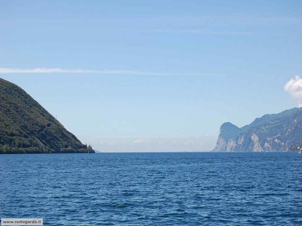 Panorama sul Lago di Garda a Torbole (TN)