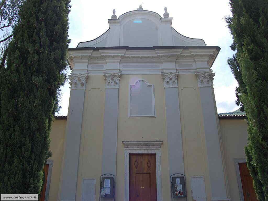 Chiesa di San Andrea a Torbole facciata
