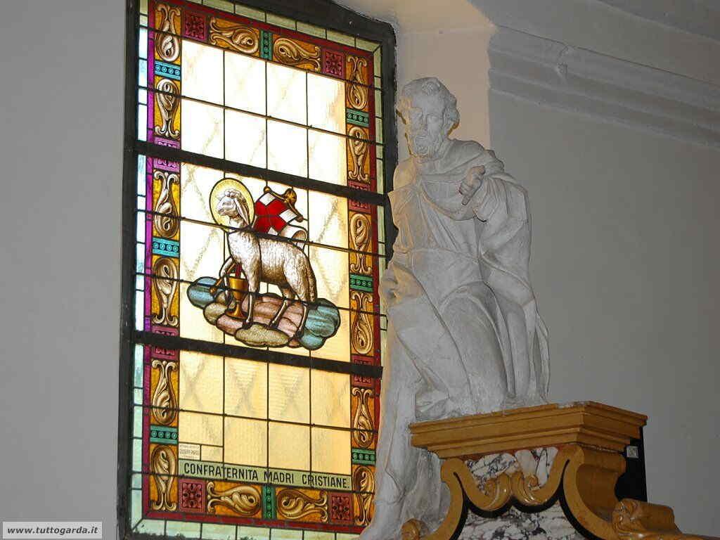 Mosaico Parrocchia  di Sant' Andrea a Torbole (TN)