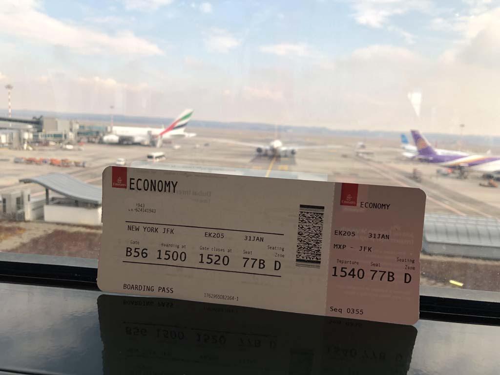 Biglietto aereo da rimborsare