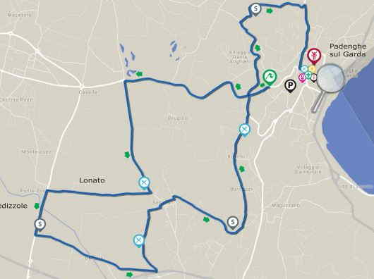Percorso Padenghe Half Marathon 2018