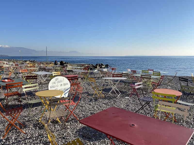 Copelia: lido e bar a Padenghe sul Garda